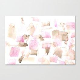 180515 Abstract Watercolour Wp 8 | Watercolor Brush Strokes Canvas Print