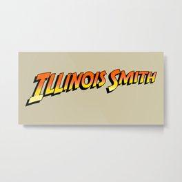 Illinois Smith Metal Print