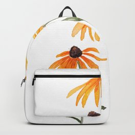 3 yellow gloriosa daisies Backpack