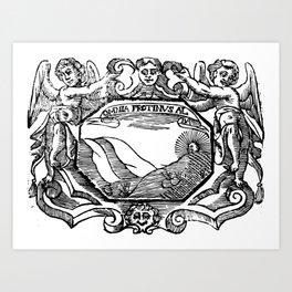 OMNIA PROTINUS AL 1630 Art Print
