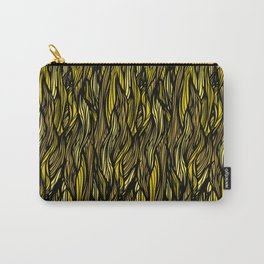 Hair Pattern Carry-All Pouch