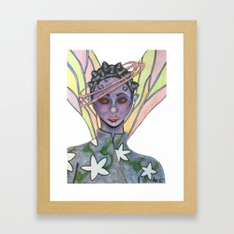 Fatiana the dragonfly fairy  Framed Art Print