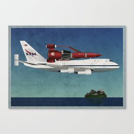 Thunderbird Carrier Canvas Print
