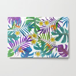 Tropical Paradise II Metal Print