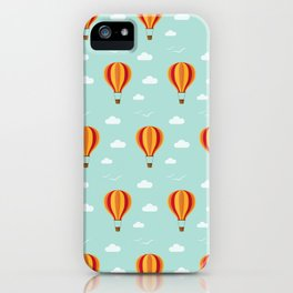 Zooming through the air iPhone Case