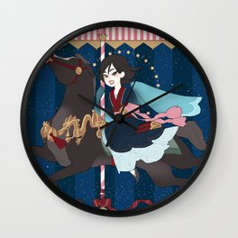 Carousel: The Dark Side of the Moon Wall Clock