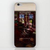 selena iPhone & iPod Skins featuring Selena Jones & Sherlock Holmes: Trial and Error by Applegate's Arts
