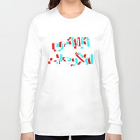 3d Long Sleeve T-shirts featuring 3D by Ain Clothing