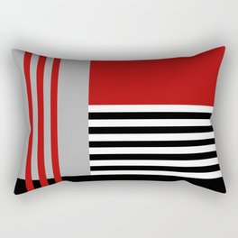 Colorful geometry 5 Rectangular Pillow