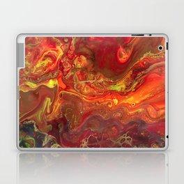 Acrylic Pour #45 Lava-Love Laptop & iPad Skin