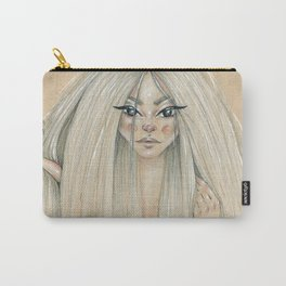 Messy hair dont care Carry-All Pouch