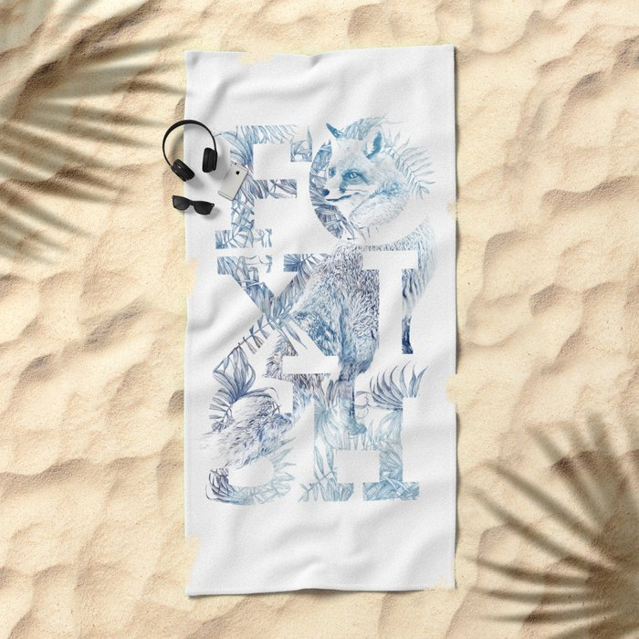 Foxish Beach Towel