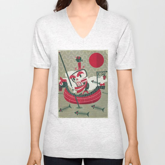 Calaverita Unisex V-Neck