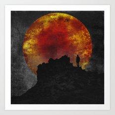 ash and fire Art Print