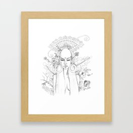 Divine Maya Framed Art Print