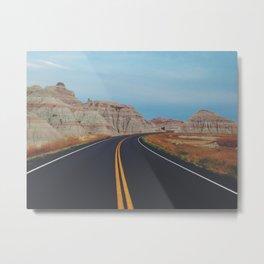 The Open Road Metal Print