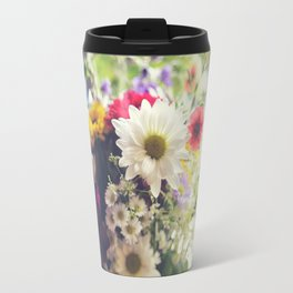 wildflower Travel Mug