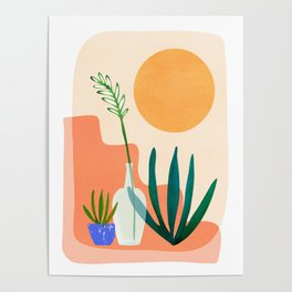 Santa Fe Summer / Abstract Landscape Poster