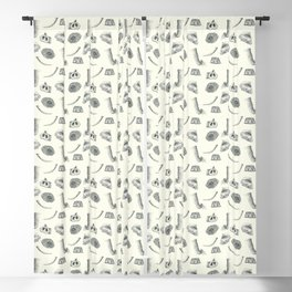 African Elephant Nature Study Blackout Curtain