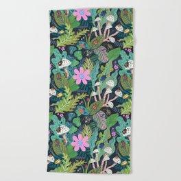 Beetle Pattern Beach Towel
