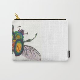 Rainbow Scarab Carry-All Pouch