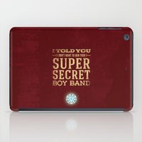 stark iPad Cases featuring Tony Stark by Bonnie Detwiller