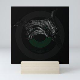Green Smile Mini Art Print