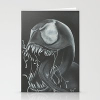 venom Stationery Cards featuring venom by Dan Solo Galleries