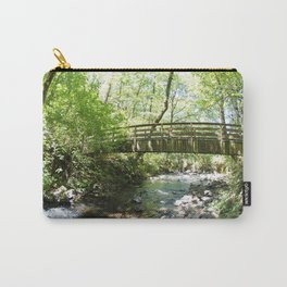 Bridal Veil Falls OR Forest Bridge Carry-All Pouch
