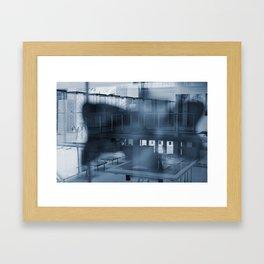 Abstract views Framed Art Print
