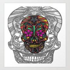 muerto#2 Art Print