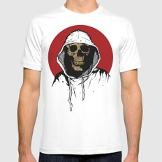 Skullboy Returns MEDIUM White Mens Fitted Tee