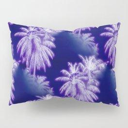 Palm Trees Coastal Evening Pillow Sham