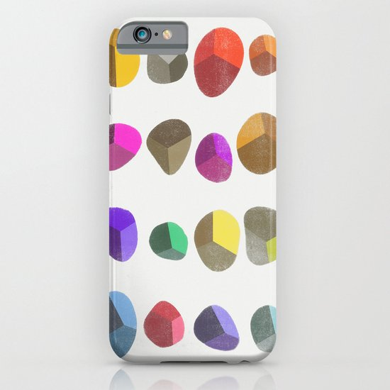 Painted Pebbles 2 iPhone & iPod Case