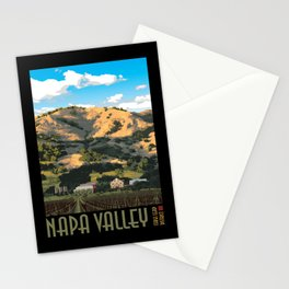 Napa Valley - Regusci Vineyards Stationery Cards