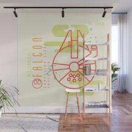 """MNML: YT-1300"" by Josh Ln Wall Mural"