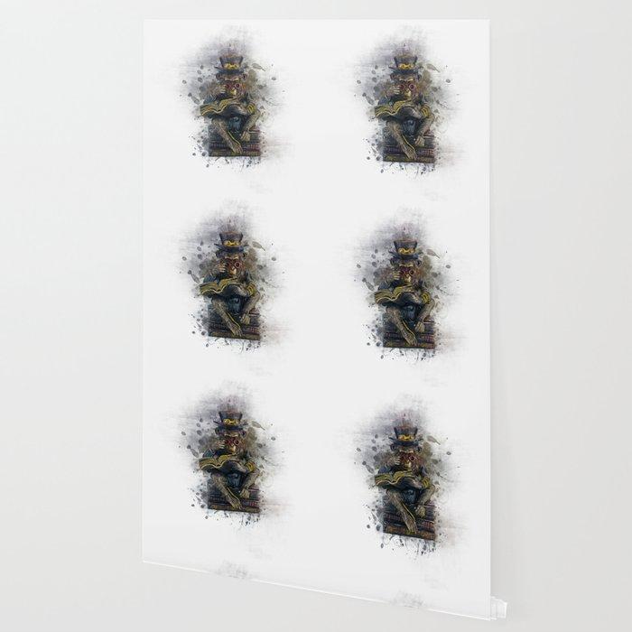 Steampunk Monkey Wallpaper