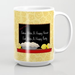 Happy Heart Happy Belly Coffee Mug