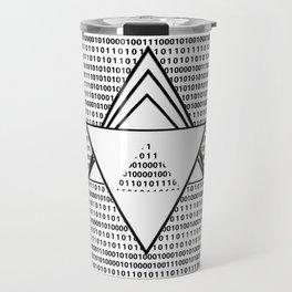 Binary code Travel Mug