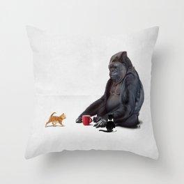 I Should, Koko (Wordless) Throw Pillow
