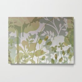 Woodland Awakening - Muted Metal Print