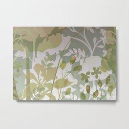 Woodland Awakening - Muted Metal Print