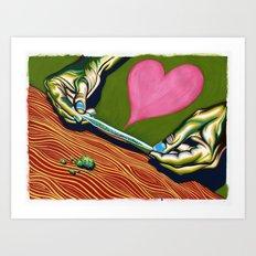 Joints Art Print