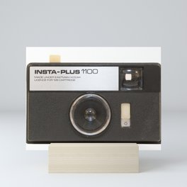 Instamatic Camera Mini Art Print