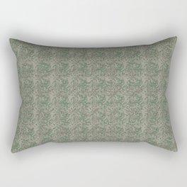 #Antique Look #Christmas #Botanical Rectangular Pillow