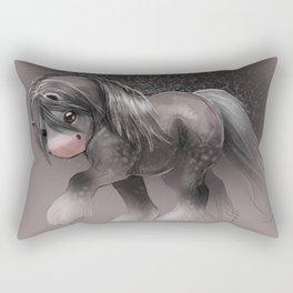 Gypsy Vanner Sketch Rectangular Pillow