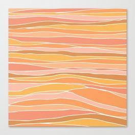 Abstract Caribbean Sunset  Canvas Print