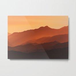 Lost Hills Metal Print