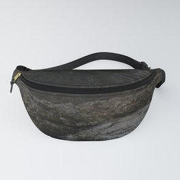blue waterfall Fanny Pack