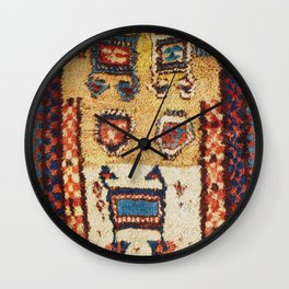 Zakatale Central Caucasus Sleeping Rug Print Wall Clock